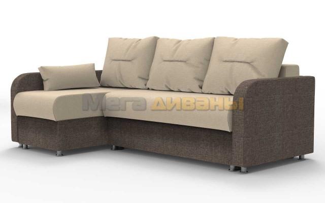 "Угловой диван ""Тритон"" - Savana camel / hazel"