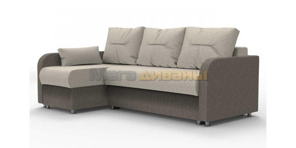 """Угловой диван """"Тритон"""" - Alba cream / beige"""